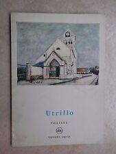UTRILLO Eglises J P Crespelle Fernand Hazan 1960 piccola enciclopedia arte libro