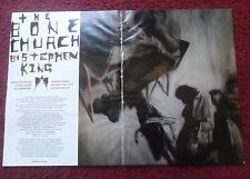 2009 Magazine Short Story 'The Bone Church' by Stephen King w/ Phil Hale Art