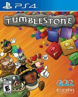 Tumblestone - PlayStation 4 [PS4] - New Sealed - Bejeweled style