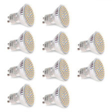 10pcs GU10 LED Light Bulb 5W LED Daylight Lamp Spotlight AC 110V-240V Cool White