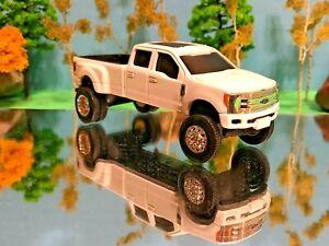 1/64 Custom Ford F350 G5 Lift Kit Lift Truck Farm Toy Ertl Beautiful Rims Tires
