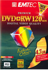 3 DVD-RW Rohlinge PREMIUM DIGITAL VIDEO QUALITY