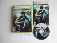 Dark Sector (Microsoft Xbox 360, 2008) Complete with Manual.
