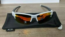 Oakley Flak 2.0 XL, Polished White with Prizm Ruby Lenses **RRP £143**