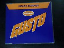 CD SINGLE - GUSTO - DISCO'S REVENGE