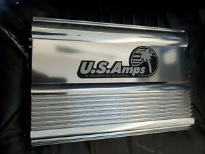 Us Amps USA-600 1 OHM STABLE AMPLIFIER rare old school amp