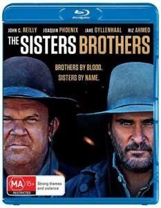 THE SISTERS BROTHERS (2018) Region B [Blu-ray] Joaquin Phoenix John C. Reilly