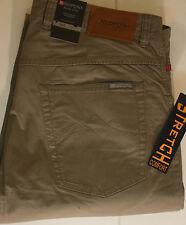 L34 Gerades-Bein Herrenhosen im Sonstige Freizeithosen-Stil mit Unifarben