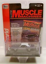 1970 '70 DODGE CHALLENGER RT R/T PURPLE MUSCLE MACHINES AUTOWORLD DIECAST 2014