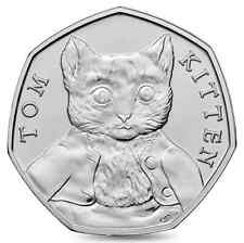 Collectable 2017 Tom Kitten 50 Pence Coin -RARE- FREE UK POSTAGE