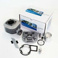 Cylinder Piston Gasket Cylinder Head Kit for Kawasaki KFX80 2003-2006