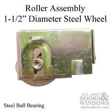 """1-1/2 Steel Wheel Roller Assembly with Adjustable Housing (11/16"""" - 13/16"""")"""