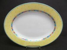"""Villeroy & Boch Twist Alea Limone 14"""" x 11"""" Oval Platter"""