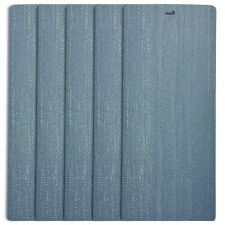 DALIX Arctic Vertical Window Blinds Premium Textured Set 5 Pack Qty / Blue Ice