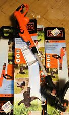 Black & Decker String Trimmer Edger Yard Weed Eater Wacker Lawn Electric Corded