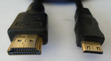 6 FT HDMI to HDMI-Mini Cable with Ethernet High Speed New Condition Excellent