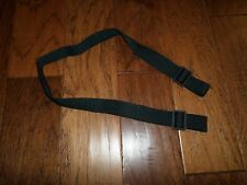 NEW U.S MILITARY SILENT SLING BLACK NYLON WEB RIFLE 2 POINT SLING G.I ISSUE