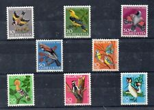Suiza Pro Juventud Fauna Aves Series año 1969-70 (DR-612)