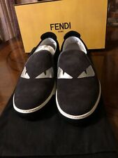 Fendi Men's Monster Eyes Slip On Sneakers