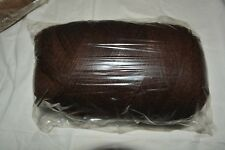 Southern Belle Mill End Yarn 19 oz Dark Brown 3-4Ply Acrylic Color Per Photo