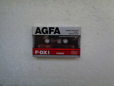 Vintage Audio Cassette AGFA F-DX I 60 * Rare From Germany 1987 *
