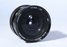Canon FD Fit Cosina MC 20 mm f/3.8 Wide Angle Prime lens * Excellent