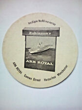 Vintage ROBINSONS - INN SIGNS - ARK ROYAL - Cat No'118 - Beermat / Coaster
