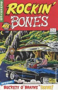 Rockin' Bones #2 FN 1992 Stock Image