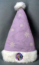Tinker Bell Tinkerbell Lavender Snowflake Santa Hat Adult NEW