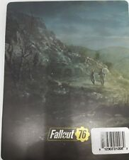 Fallout 76 -- Steelbook Case -- Playstation 4 PS4 XBox One -- NO GAME ---
