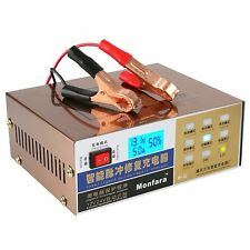 Auto 12V/24V 100AH Car Scooter Battery Charger Pulse For Lead Acid Battery