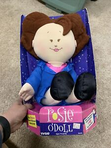 Rosie O'Donnell 90's Talking Doll Plush The Rosie O'Doll 1997 ABC The View