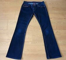 Ted Baker Ladies Bootcut Stretchy Blue Jeans Size W30 L34