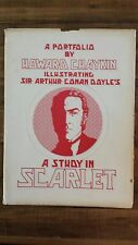 Study in Scarlet Arthur Conan Doyle/Portfolio by Howard Chaykin 1977, Signed