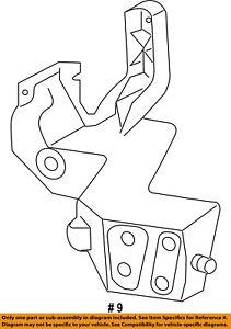 Jeep CHRYSLER OEM Grand Cherokee Radiator Core Support-Bracket Right 5156134AA