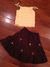 Gymboree VHTF Glamour Safari Skirt Set Size 6-12 Months