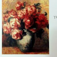 Renoir's Morte aux Roses 000-087 Jamie Larson White Willow Cross Stitch Pattern