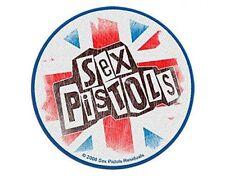 SEX PISTOLS logo union jack 2010 WOVEN SEW ON PATCH official merchandise McLaren