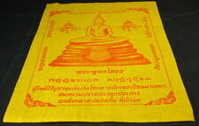 LARGE Buddhist Temple PHA YANT NEW 'WISHING'  Cloth WAT SOTHORN BUDDHA. BLESSED