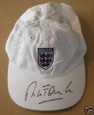 Robbie Fowler Signed England Baseball Cap Liverpool Legend AFTAL RD#175