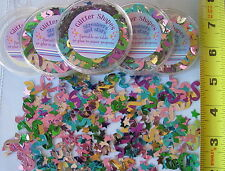 4 Packs Stars & Streamers Glitter Shapes New Year's Parties Crafts Decorations