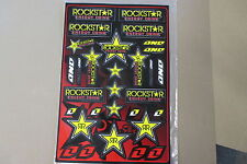 ONE INDUSTRIES  ROCKSTAR UNIVERSAL GRAPHICS STICKERS 12X18 SHEET