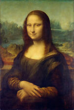 Dream-art Oil painting The world famous female portrait Mona Lisa smiling canvas