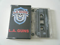 L.A. GUNS S/T SELF TITLED CASSETTE TAPE VERTIGO 1988