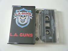 L.A. GUNS S/T SELF TITLED CASSETTE TAPE VERTIGO 1988