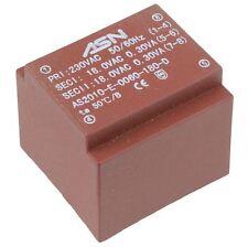 0-9V 0-9V 0.6VA 230V Trasformatore incapsulato PCB