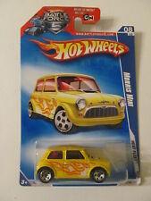 Hot Wheels - Heat Fleet Morris Mini - Sealed - Light Wear