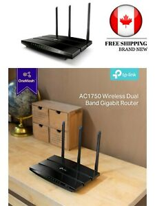 NEW TP-Link Archer AC1750 Dual Band Wireless AC Gigabit Router 2.4GHz 450Mbps