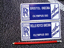 CONCORDE ENGINE COVER STICKERS AVIATION AEROPLANE AIRLINER SUPERSONIC