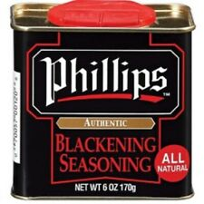 Phillips Blackening Seasoning used in Phillips Seafood Restaurants